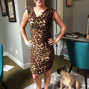 INC International Concepts Dresses - INC Leopard Print Dress